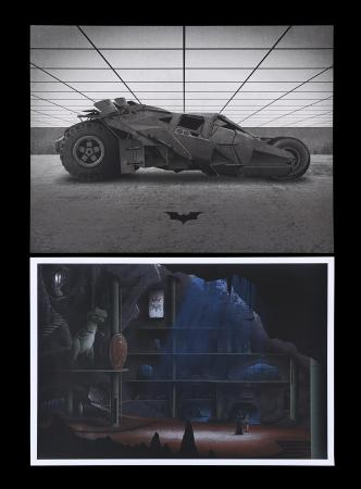 "Lot #227 - BATMAN - Two Batman Mondo Posters - ""Bat Cave"", 2012 and ""The Tumbler"", 2014"
