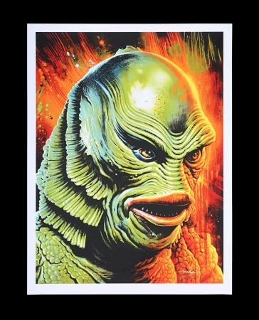 Lot #238 - CREATURE FROM THE BLACK LAGOON (1954) - Mondo Poster, 2013