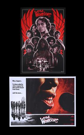 Lot #271 - THE WARRIORS (1979) - Two 'Mondo' Posters, 2019