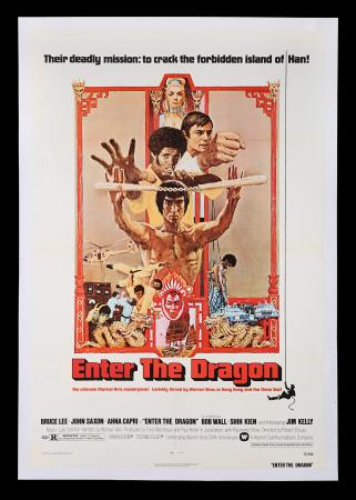 Lot #277 - ENTER THE DRAGON (1973) - US One-Sheet Poster, 1973