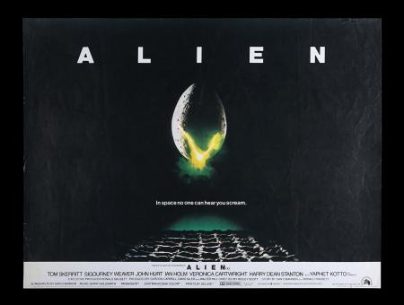 Lot #314 - ALIEN (1979) - UK Quad Poster, 1979