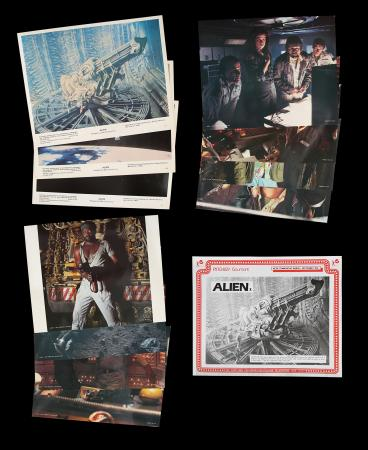 Lot #315 - ALIEN (1979) - Set of Eight US Front of House Lobby Cards and Four Additional Cards, 1979