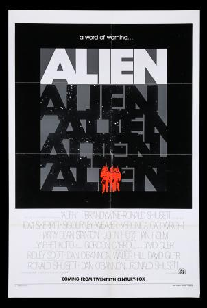 Lot #316 - ALIEN (1979) - US One Sheet Poster - Advance, 1979