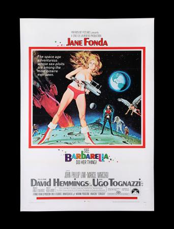Lot #317 - BARBARELLA (1968) - US One-Sheet, 1968