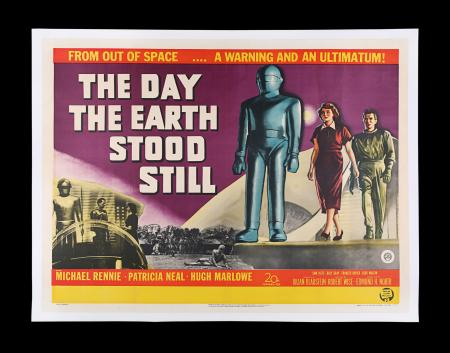 Lot #321 - THE DAY THE EARTH STOOD STILL (1951) - UK Quad Poster, 1951