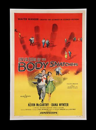 Lot #324 - INVASION OF THE BODY SNATCHERS (1956) - US One-Sheet Poster, 1956