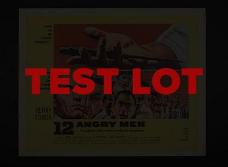 BIDDING PRACTICE TEST LOT - PLEASE TEST YOUR BID BUTTON - THE VIDEO STREAM WILL BEGIN at 11:50