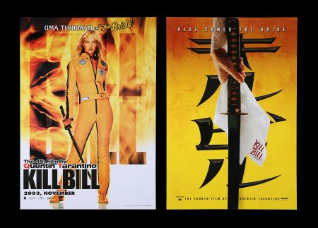 Lot #9 - KILL BILL (2003) - US One-Sheet and Thai One-Sheet, 2003