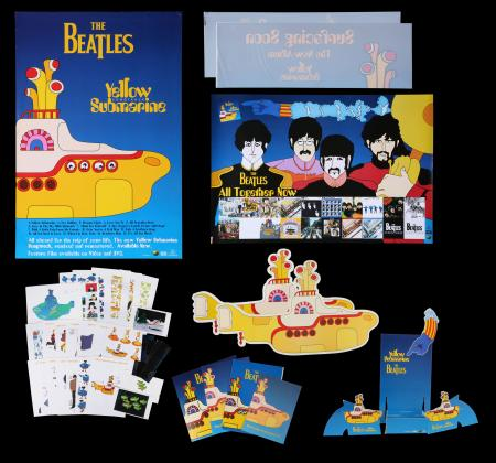 Lot #35 - YELLOW SUBMARINE (1968) - Promotional and Marketing Items, 1999