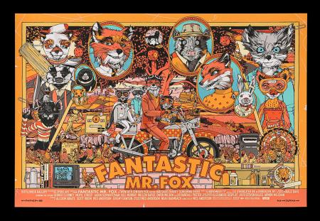 Lot #184 - FANTASTIC MR. FOX (2009) - Mondo Poster, 2016