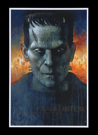 Lot #185 - FRANKENSTEIN (1931) - Mondo Poster, 2018