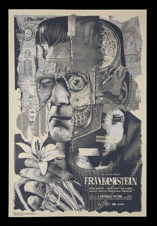 Lot #186 - FRANKENSTEIN (1931) - Vice Press & Bottleneck Gallery Poster, 2020