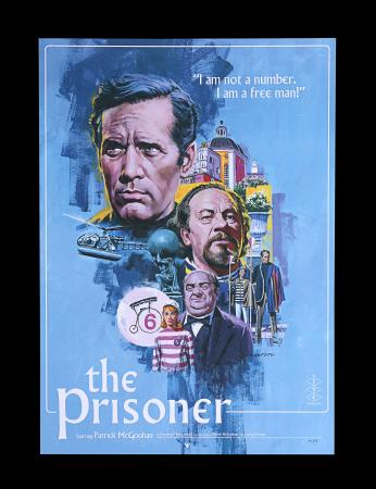 Lot #199 - THE PRISONER (1967) - Vice Press Poster, 2018 by Paul Mann