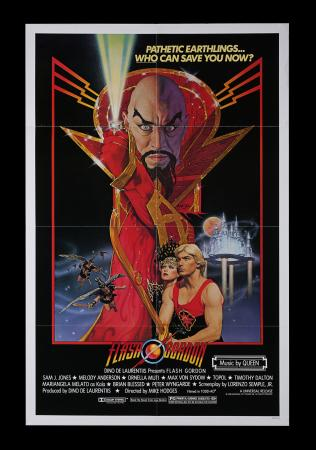 Lot #220 - FLASH GORDON (1980) - US One-Sheet, 1980