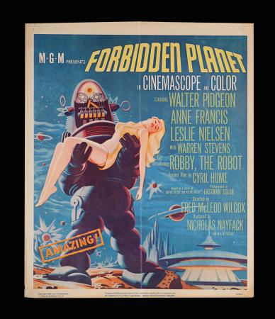 Lot #221 - FORBIDDEN PLANET (1956) - US Window Card, 1956