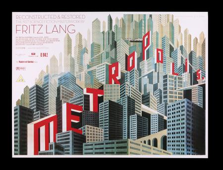 Lot #227 - METROPOLIS (1927) - UK Quad, 2010