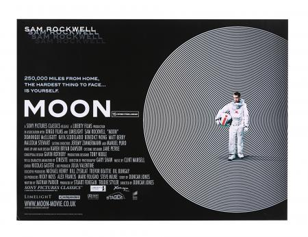 Lot #228 - MOON (2009) - UK Quad, 2009