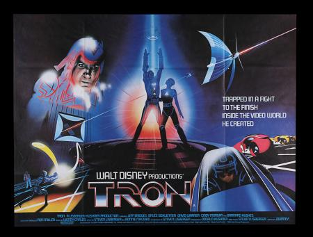 Lot #233 - TRON (1982) - UK Quad, 1982