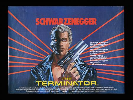 Lot #242 - THE TERMINATOR (1984) - UK Quad, 1984