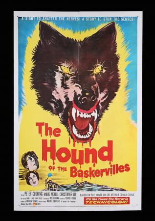 Lot #259 - HOUND OF THE BASKERVILLES (1959) - US One-Sheet, 1959