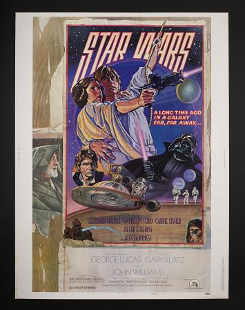 "Lot #286 - STAR WARS: A NEW HOPE (1977) - US 30"" x 40"" One-Sheet Style ""D"" Poster, 1978"
