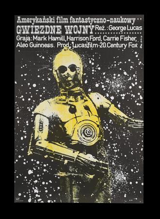Lot #287 - STAR WARS: A NEW HOPE (1977) - Polish One-Sheet, 1979