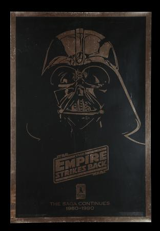 Lot #306 - STAR WARS: EMPIRE STRIKES BACK (1980) - US One-Sheet, 1990