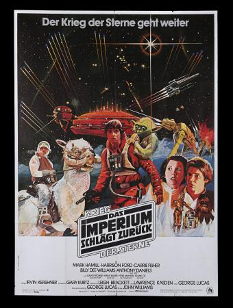 Lot #310 - STAR WARS: THE EMPIRE STRIKES BACK (1980) - German A0, 1980