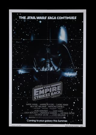 Lot #311 - STAR WARS: THE EMPIRE STRIKES BACK (1980) - US One-Sheet, 1980