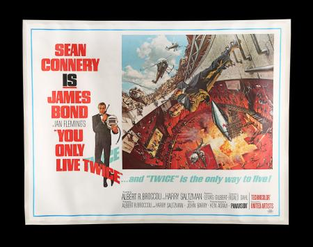 Lot #400 - YOU ONLY LIVE TWICE (1967) - US Subway (Style A), 1967