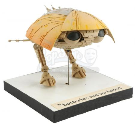Lot #105 - *BATTERIES NOT INCLUDED (1987) - Final Approved Jetsam Fix-It Design Model with Stand