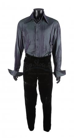 Lot #239 - FACE/OFF (1997) - Sean Archer's (Nicolas Cage) Blood-Stained Siege Costume