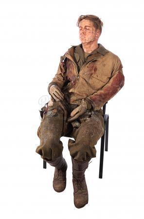 "Lot #278 - FURY (2014) - Don ""Wardaddy"" Collier's (Brad Pitt) Full-size Body Dummy"
