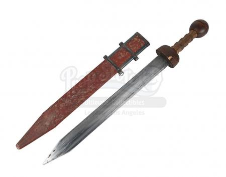 Lot #291 - GLADIATOR (2000) - Roman Infantry Sword and Scabbard