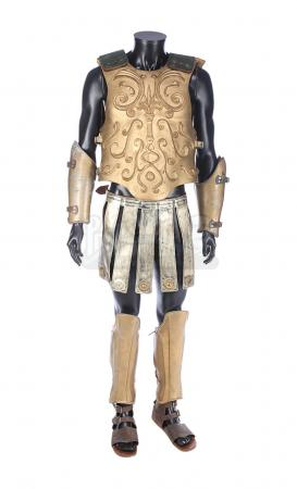 Lot #292 - GLADIATOR (2000) - Chariot Driver's Golden Armour