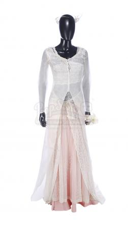 Lot #484 - LOVE ACTUALLY (2003) - Juliet's (Keira Knightley) Wedding Dress