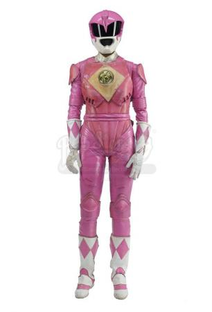 Lot #498 - MIGHTY MORPHIN' POWER RANGERS: THE MOVIE (1995) - Pink Ranger (Amy Jo Johnson) Costume