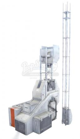 Lot #510 - MOON (2009) - Lunar Communications Jamming Tower Model Miniature