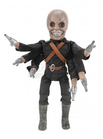 Lot #576 - RETRO PUPPET MASTER (1999) - Six-Shooter Puppet