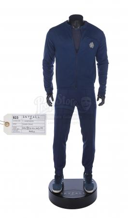 Lot #411 - JAMES BOND: SKYFALL (2012) - James Bond's (Daniel Craig) MI6 Training Suit