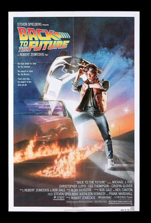 Lot #1 - BACK TO THE FUTURE (1985) - US One-Sheet, 1985