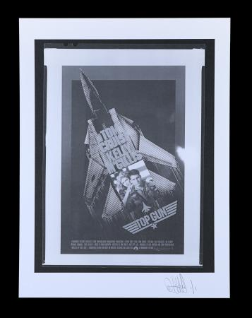 Lot #23 - TOP GUN (1986) - FEREF ARCHIVE: Original Negatives with 1 of 1 Proof Print, 2021