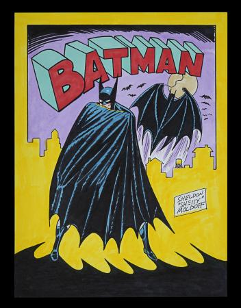 Lot #37 - BATMAN (1990S) - Colour Pin Up, 1990s