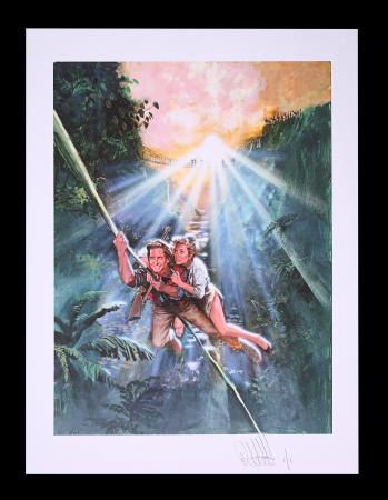 Lot #73 - ROMANCING THE STONE (1984) - FEREF ARCHIVE: Original Transparencies and Negatives with 1 of 1 Proof Print, 2021
