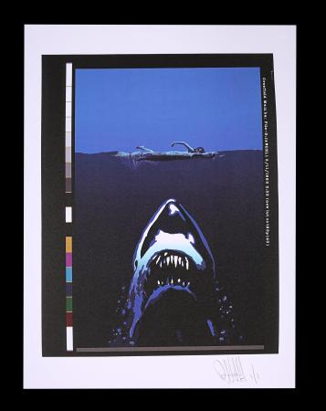 Lot #94 - JAWS (1975) - FEREF ARCHIVE: Original Transparency with 1 of 1 Proof Print, 2021