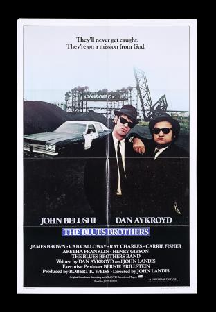 Lot #159 - THE BLUES BROTHERS (1980) - US/International One-Sheet, 1980
