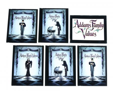 Lot #269 - ADDAMS FAMILY VALUES (1993) - FEREF ARCHIVE: Original Poster Concept Transparencies