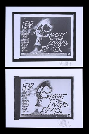 Lot #292 - NIGHT OF THE LIVING DEAD (1968) - FEREF ARCHIVE: Original Negatives with Two 1 of 1 Proof Prints, 2021