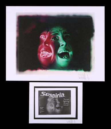 Lot #302 - SUSPIRIA (1977) - FEREF ARCHIVE: Original Transparency and Negatives with Two 1 of 1 Proof Prints, 2021
