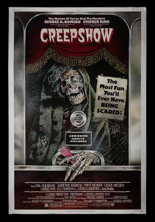 "Lot #304 - CREEPSHOW (1982) - Bryan Fuller Collection: US 60"" x 40"", 1982"